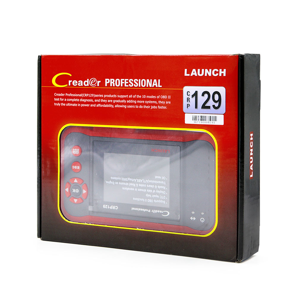 Launch Creader Professional Crp129 Code Reader Update Online