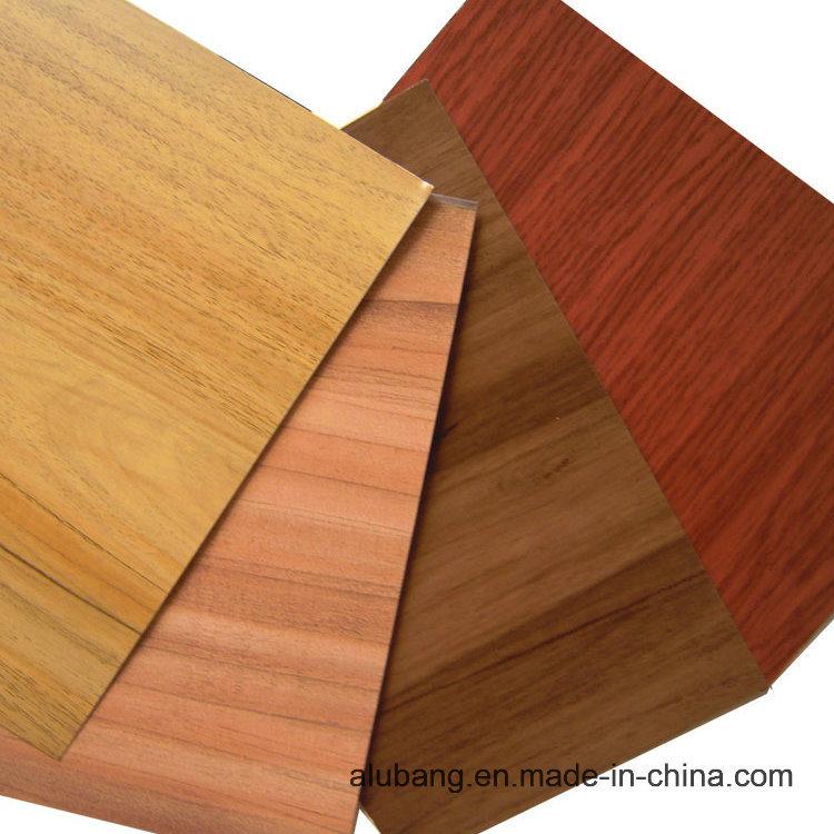 Wood Grain Aluminium Composite Panels (ALB-014)