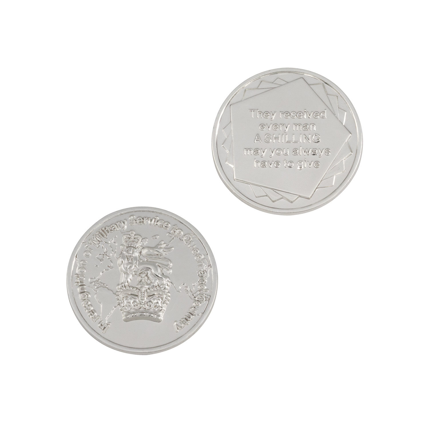 Personal Design Old Antique Style Souvenir Coin