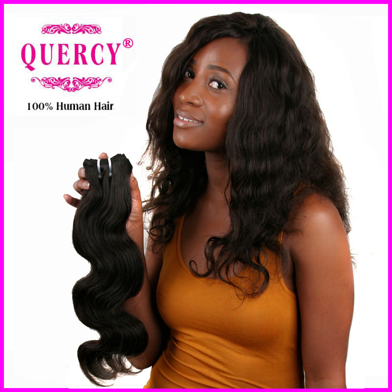 Grade 8A Peruvian Human Hair Wet and Body Wavy Weave, 100% Human Peruvian Wavy Hair
