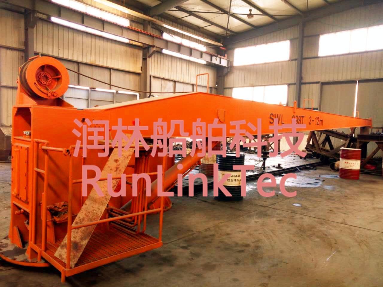 Slewing Crane/Marine Crane/Electrci/Hydraulic/Marine Equipment/Ship Building