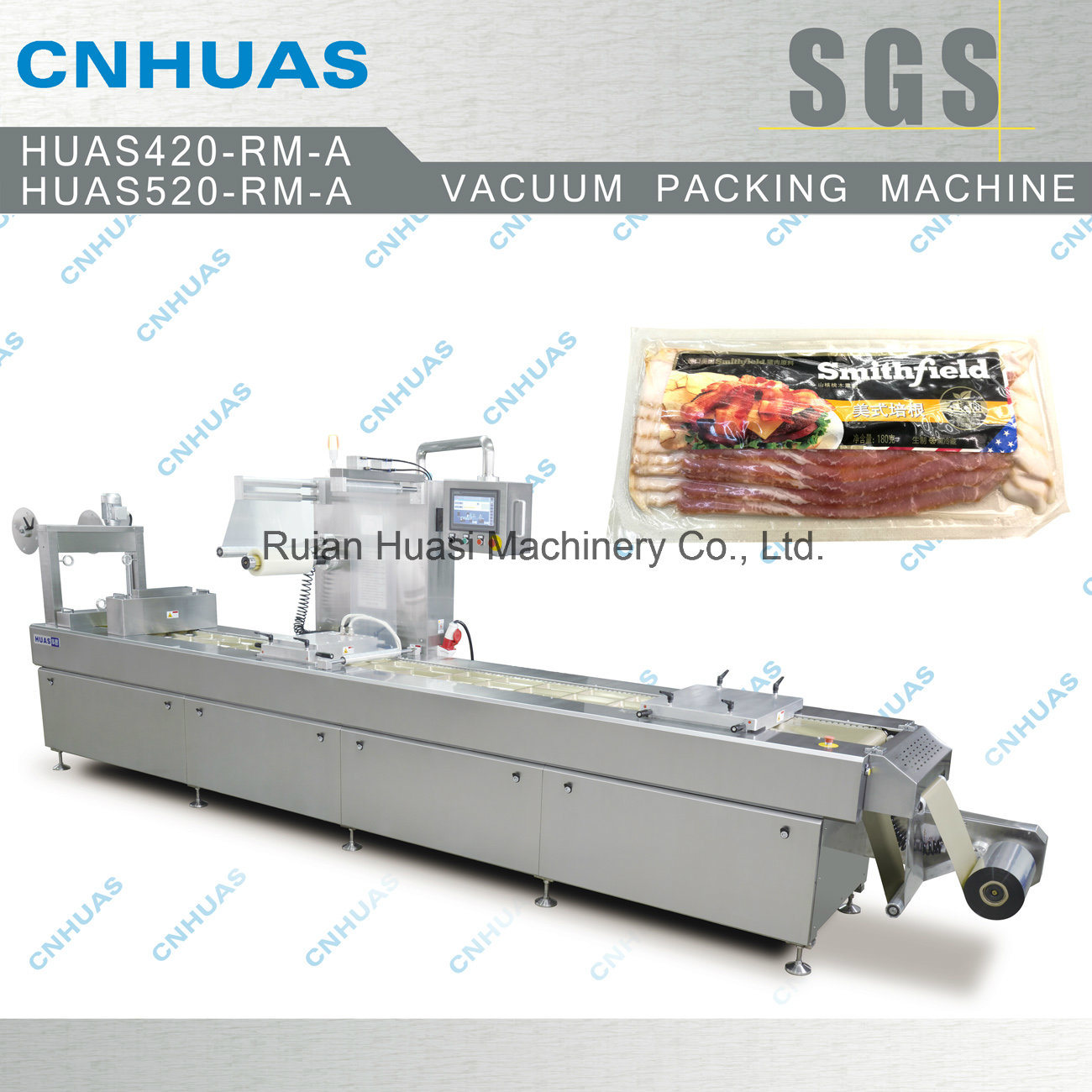 Automatic Vacuum Skin Packing Machine for Food