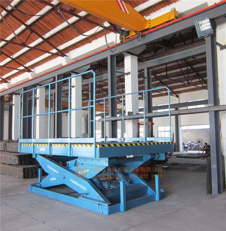 Stationary Heavy Hydraulic Scissor Lift Platform (SJG20-2)
