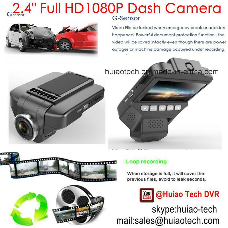"New Sony Imx322 Car Digital Video DVR with 2.45"" IPS Screen, 5.0mega Car Camera, Full HD1080p Car Black Box, , Wireless WiFi Mini Car Camera DVR-2409"