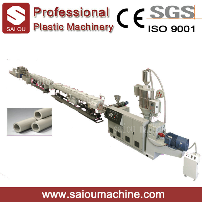 Water Supply/Water Drainage PP PE PVC Pipe Extrusion Production Line