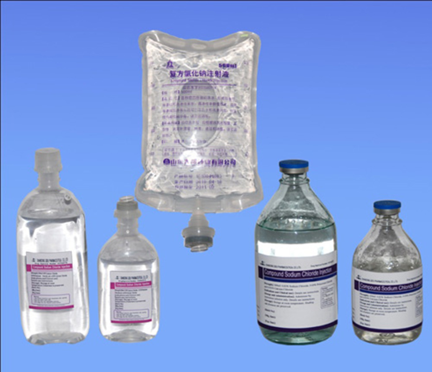 Common IV Solutions Compound Sodium Chloride Injection