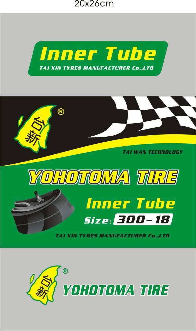 Motorcycle Inner Tube / Tire/ Tyre 3.00-18
