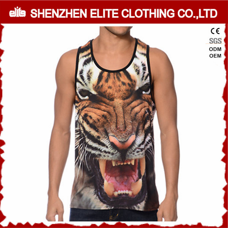 Men High Quality Fashion Design 3D Printed Vests (ELTMBJ-194)