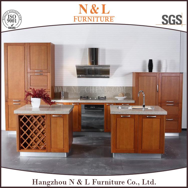 Cherry Solid Wood Kitchen Cabinet