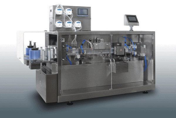 Ggs-118 P5 Oral Liquid Plastic Ampoule Automatic Filling Sealing Machine
