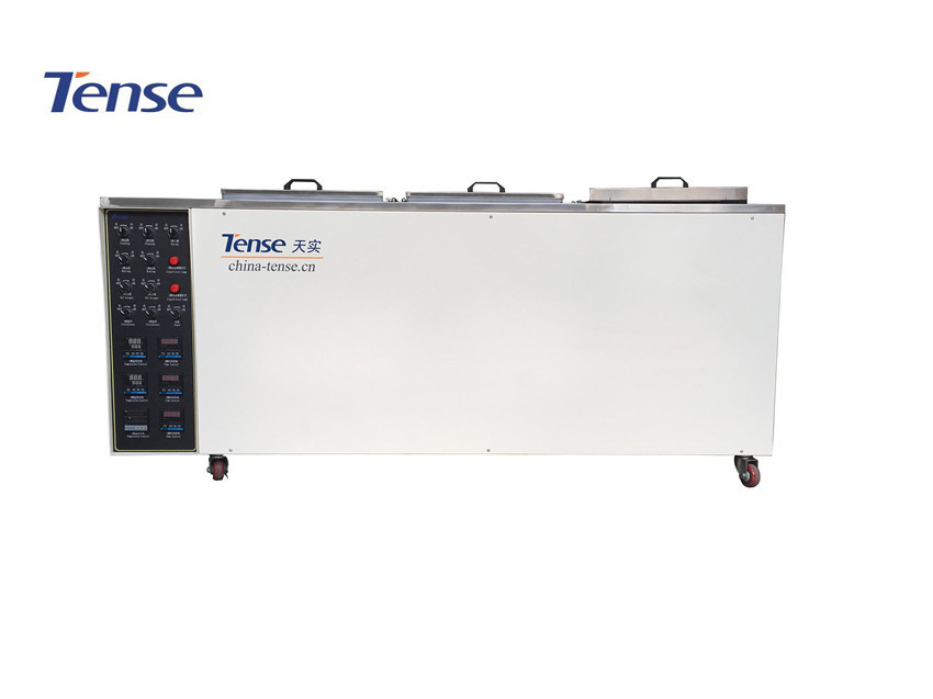 Tense 3 Tanks Ultrasonic Cleaning Machine with Dry Tank