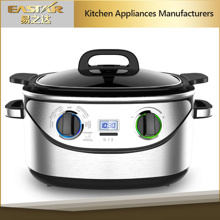 Stainless Steel Deluxe 5.6L Capacity for Multi Function Cooker