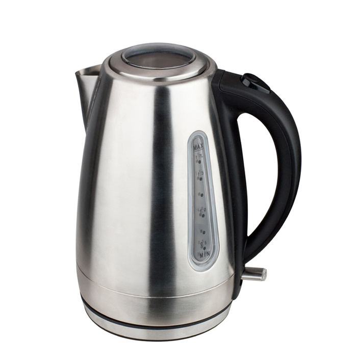 Wholesale Stainless Steel Ss Kettle 1.7L Seamless Liner Electric Kettle