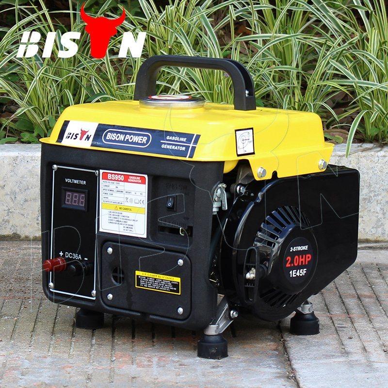 Bison Small MOQ Air-Cooled Mini Portable Gasoline 750watt Generator