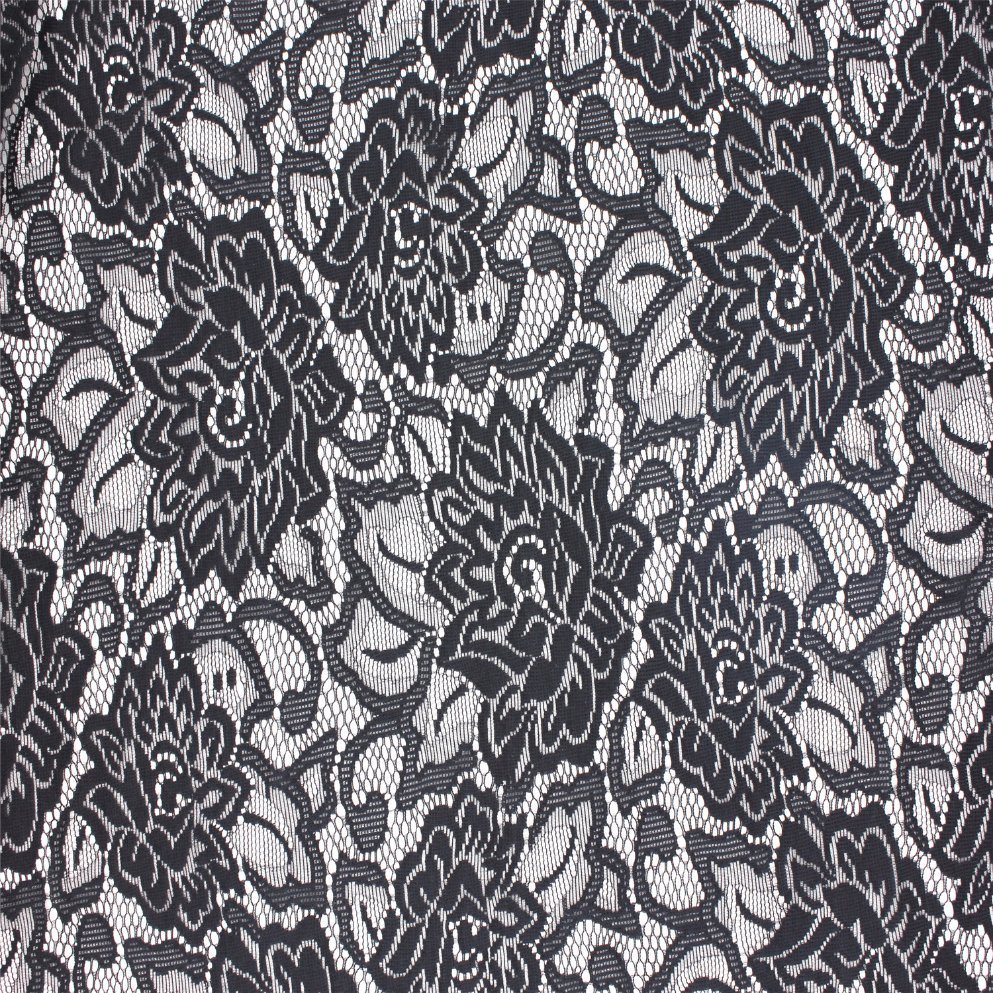 Jacquard Nylon Lace Fabric for Dress