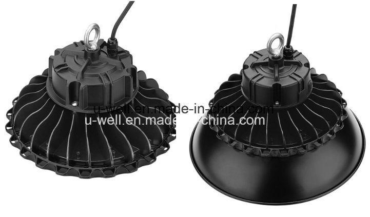 Industrial UFO Highbay Lamp Lighting Waterproof 130lm/W Sensor Dimmable 240W 200W 100W 150W LED High Bay Light