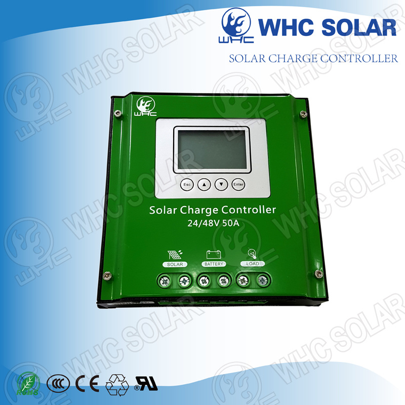 48V 50A PWM Solar Charge Controller with Iron Shells