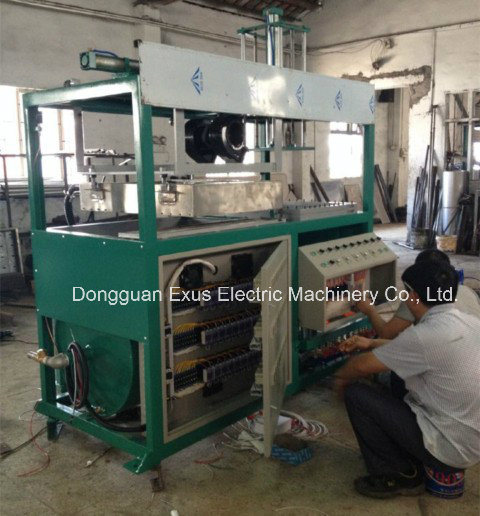 Semi Automatic Plastic Blister Vacuum Thermo Forming Machine