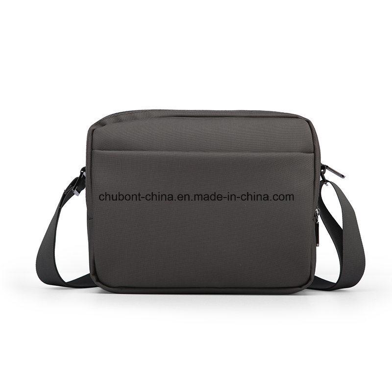 Chubont Waterproof Nylon Men′s Shouler Bag Message Bag Daily Use