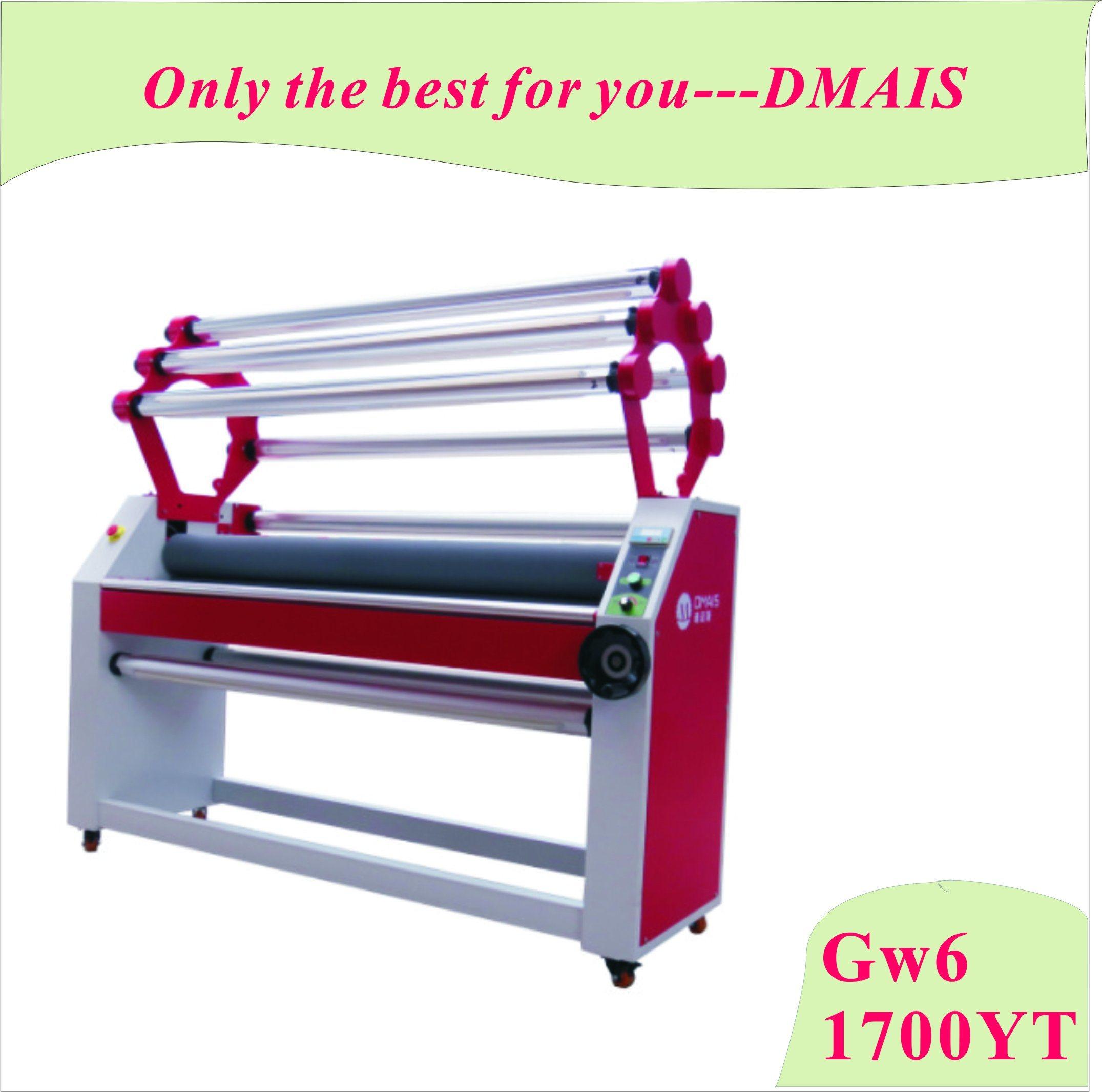 Gw6-1700yt Full Automatic Roll Laminator 6 Roller Laminating Machine
