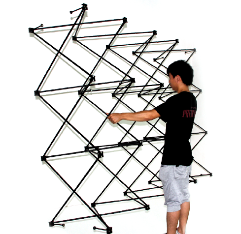 Exhibition Pop up Stand Display for Magnetic Straight