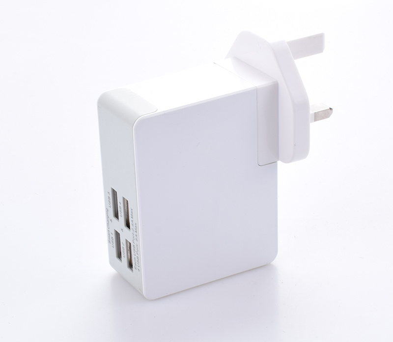 5V 4.8A Popular Multiple USB Tablet Emergency Travel Smart Charger