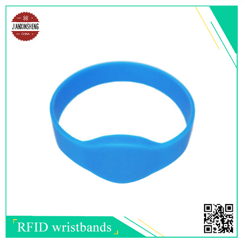 RFID Silicone Wristband with Different Shape Like Half Round Shape