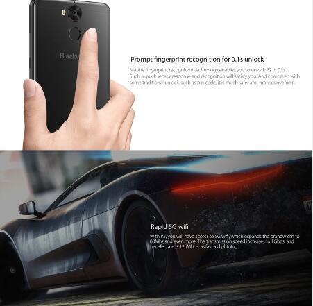 Blackview P2 4G Lte Octa Core Android 6.0 Smart Phone