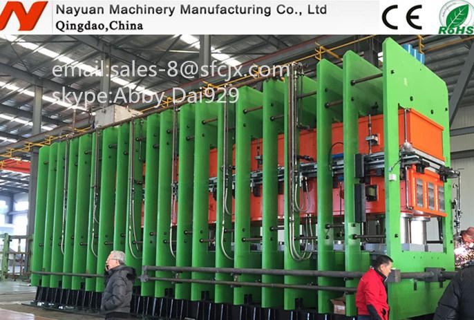 Steel Cord/Fabric Conveyor Belt Vulcanizing Press/Belt Vulcanizing Machine
