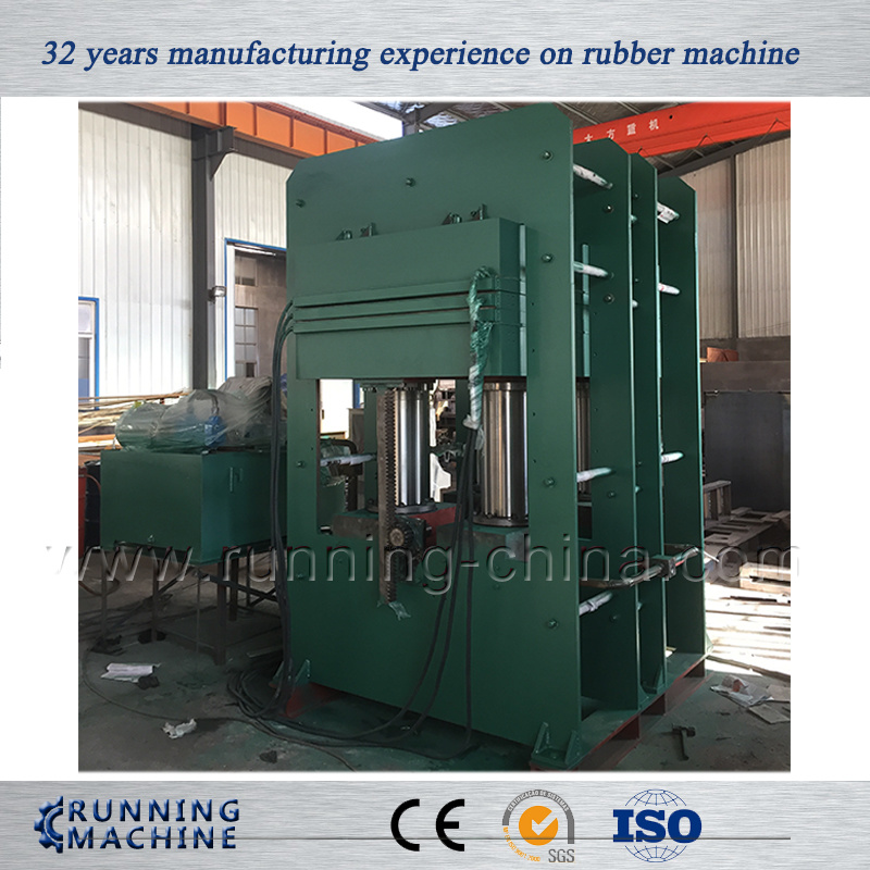 Huge Frame Structure Rubber Hydraulic Vulcanizing Press Machine (Xlb-D800X800)