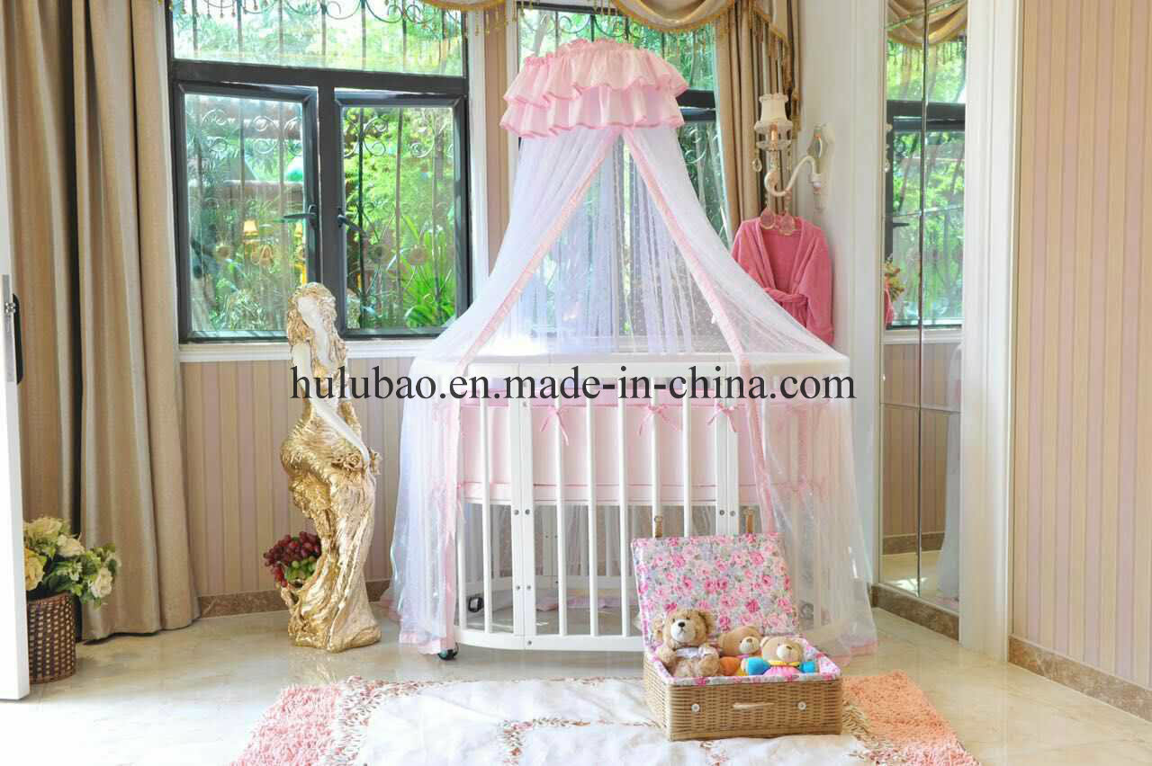 Baby Furntiure Children Furntire Wood Metal Convertible Crib Convertible Cot Round Crib