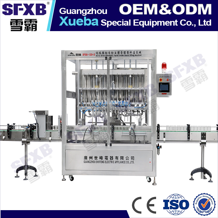 Automatic 316L Stainless Paste Filling Machine