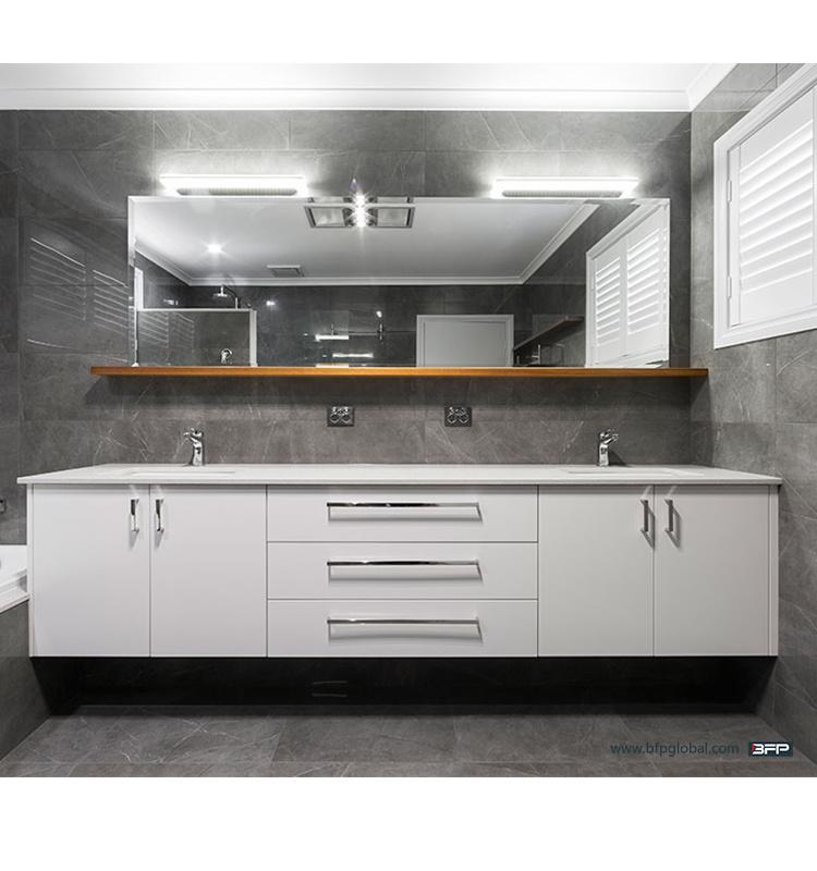 Plastic Hanging New Bath Vanity Graceful Modern PVC Bathroom Cabinet