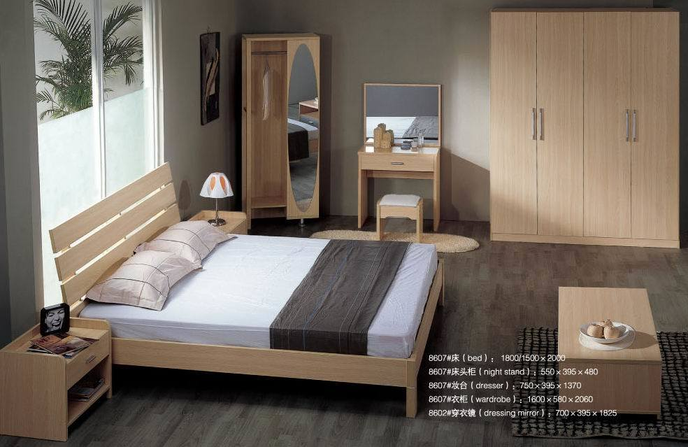 china simple bedroom furniture 8607 china bedroom