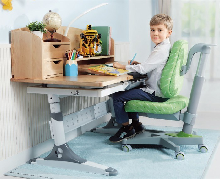 Colorful Ergonomic Formaldehyde Free Ergonomic Table Children Study Table Hya-E120