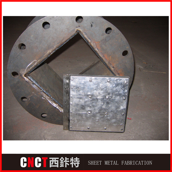Custom Steel Structure for Machinery