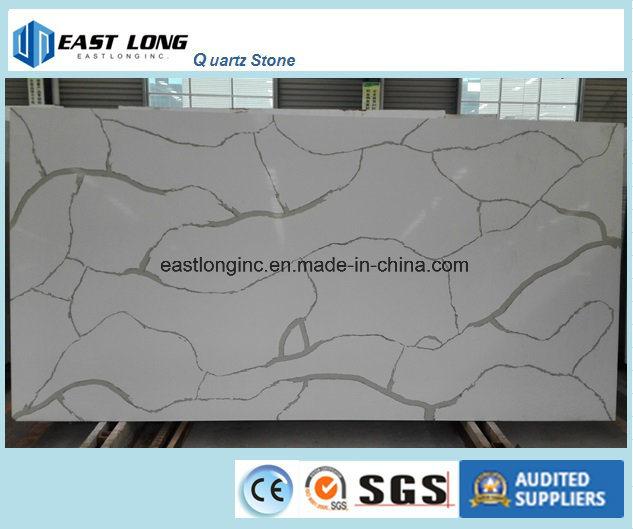 Wholesale Building Material Quartz Stone for Kitchen Countertop/ Table Top/ Solid Surface/ Quartz Tiles