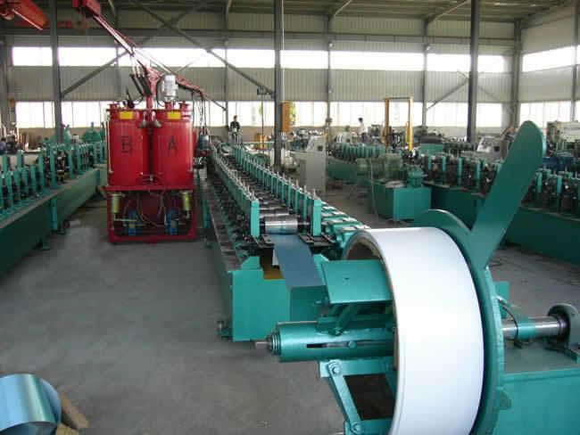 Foaming Shutter Door Roll Forming Machine
