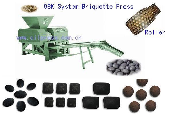 China bk series biomass briquette press