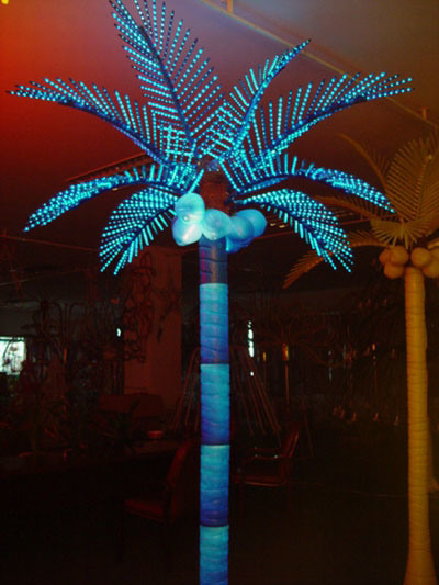 Lighted palm trees decor outdoor indoor prelit artificial palm