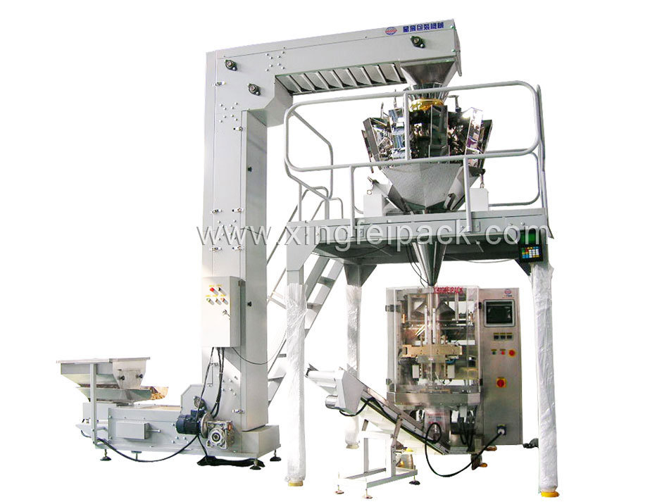 Xfl Automatic Vertical Weighing and Packing Machine