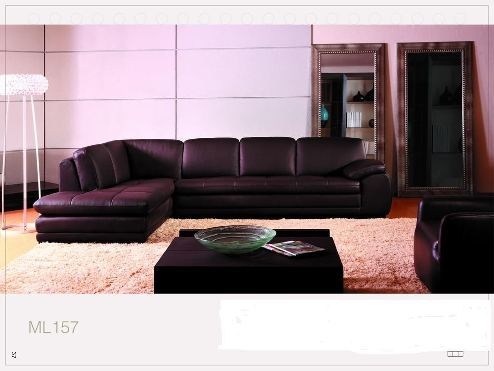 China leather sofa new design ml 157 china leather for China sofa design