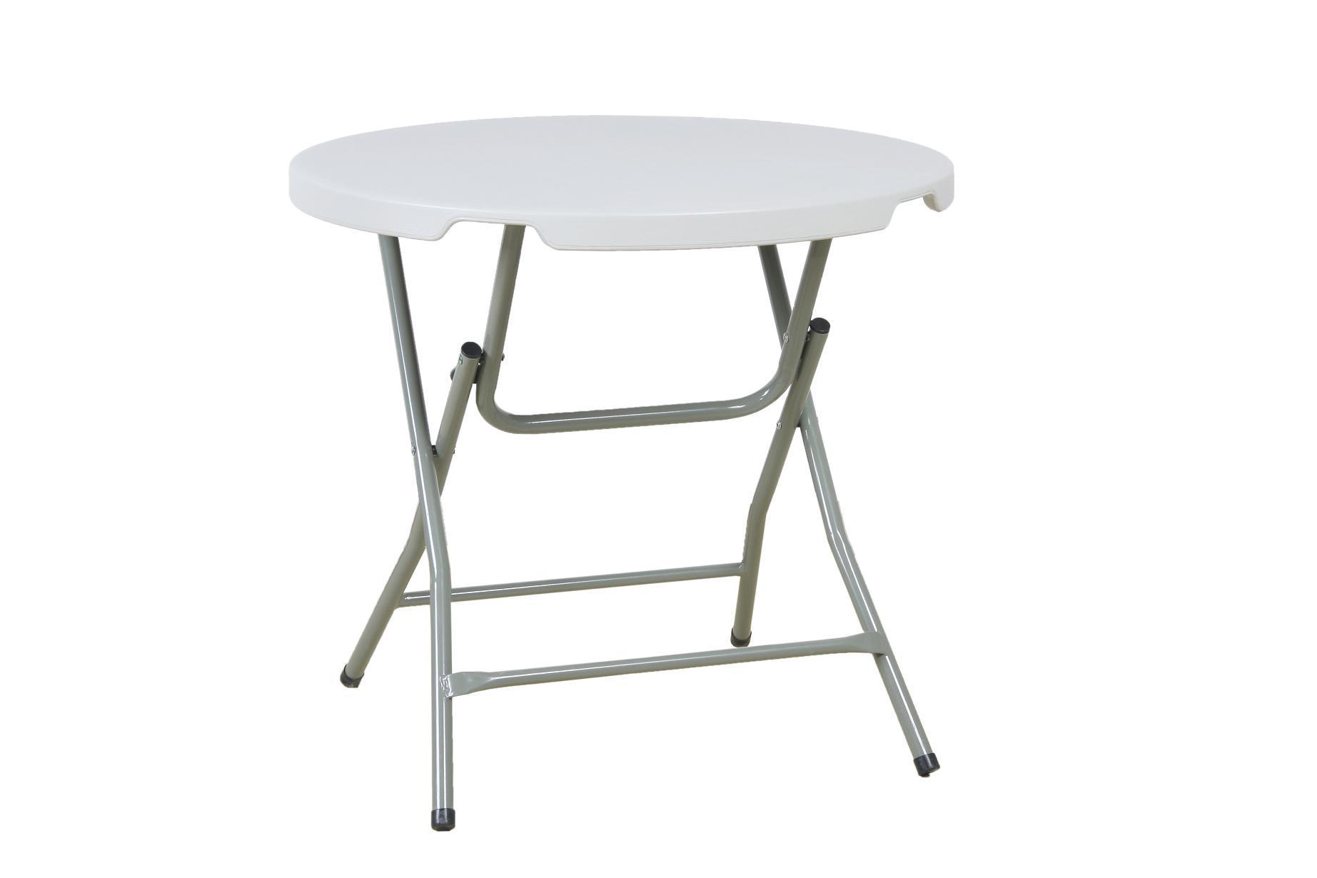Dia 80cm Round Dining Plastic Folding Table