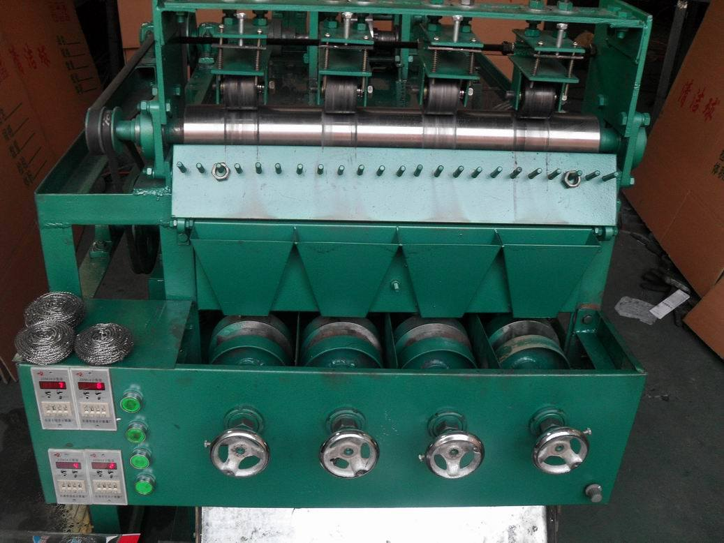 Scourer Machine for Making Scourer Wire for 4 Wire a Ball or More