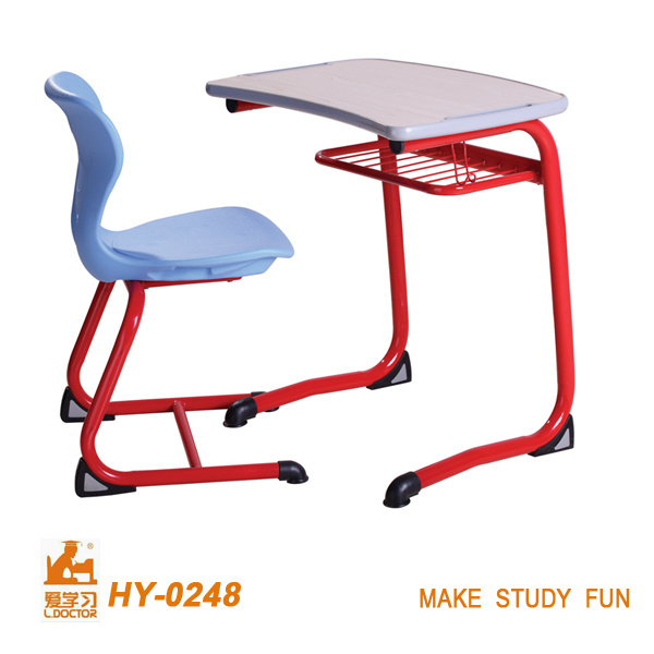 Hot Sale New Style Steel Wood School Students Desk and Chair