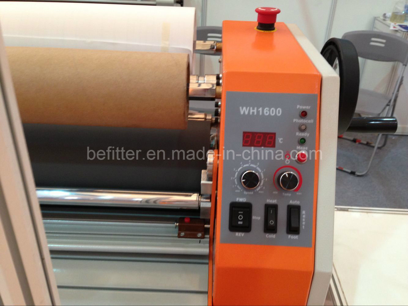 """Wh-1600lh 1.6m 63"""" Cold Laminator with 60 Degree Temperature Assist"""