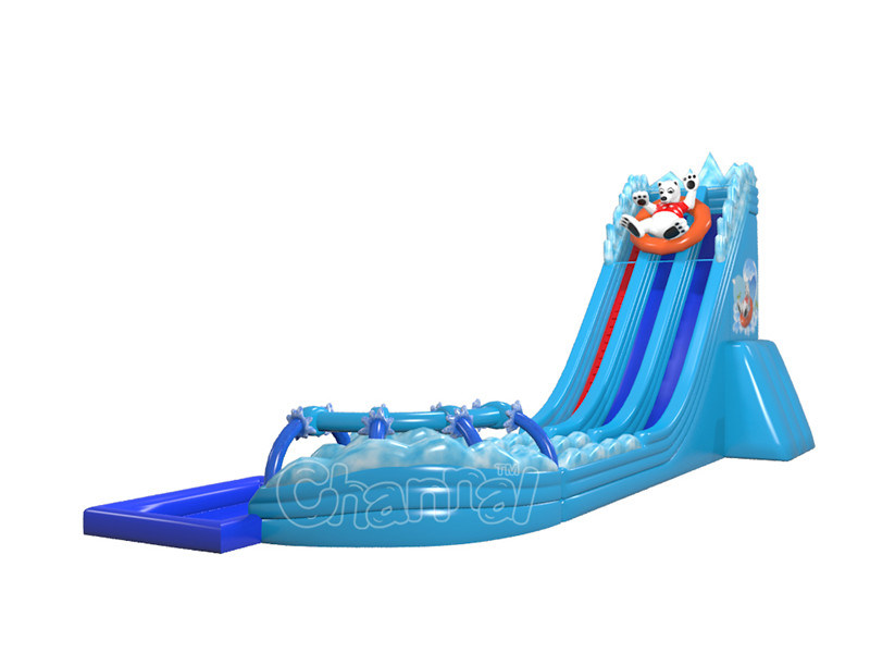 North Pole Bear Inflatable Water Slide for Water Park (CHSL1112)