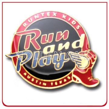 Promotion Gold Plating Imitation Hard Enamel Metal Pin Badge