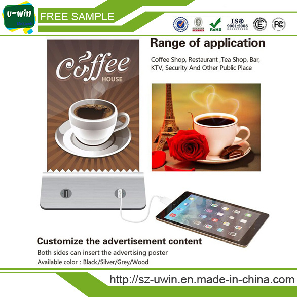 Menu Restaurant 15000mAh Power Bank for Restaurant Use