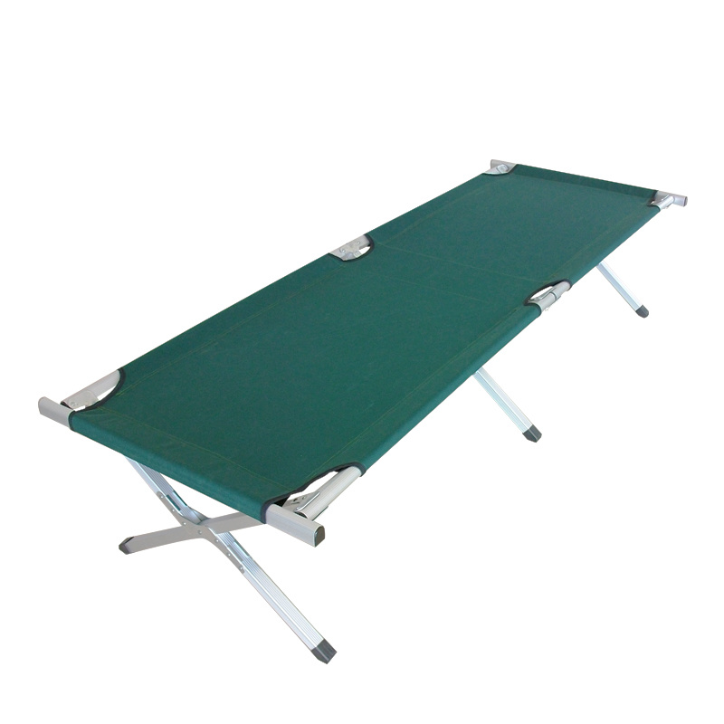 Aluminum Camping Cot (M) with Side Pocket